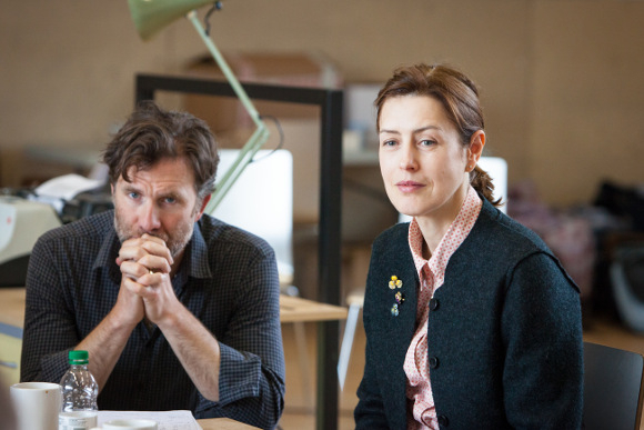 <p>Jo Stone-Fewings and Gina McKee</p><br />© Marc Brenner