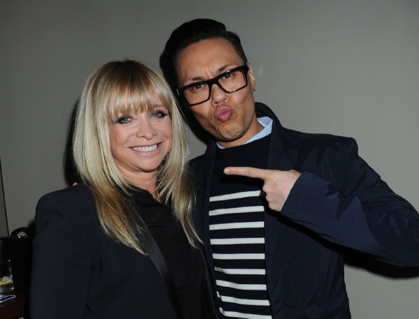 <p>Jo Wood and Gok Wan</p><br />© Alan Davidson