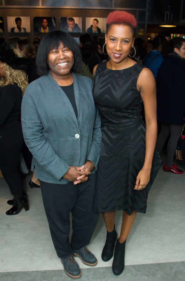 <p>Joan Armatrading and Jade Anouka (Ariel/Mark Antony/Hotspur)</p><br />©  Dan Wooller for WhatsOnStage, 2016