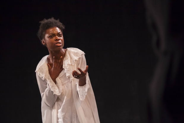 <p>Joan Iyiola (Prudence in <em>The Convert</em></p><br /> © Iona Firouzabadi