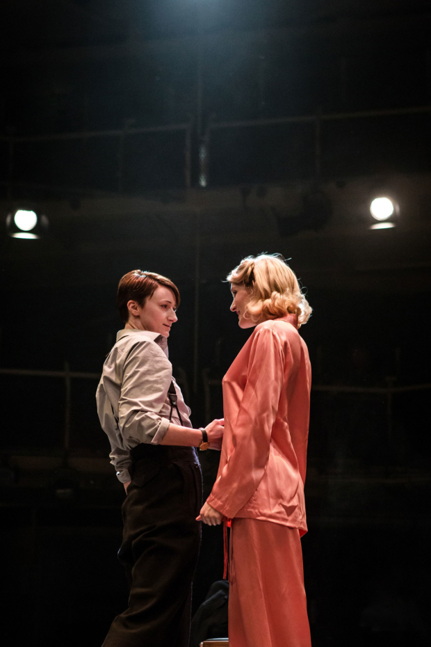 <p>Jodie McNee (Kay-Langrish) and Kelly Hotten (Helen Giniver) in <em>The Night Watch</em></p><br />© Richard Davenport