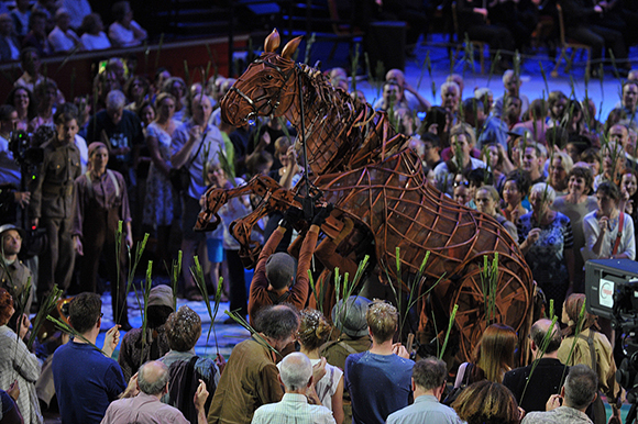 <p>Joey and Prommers at the <em>War Horse</em> Prom, BBC Proms 2014.</p><br />© BBC/Chris Christodoulou