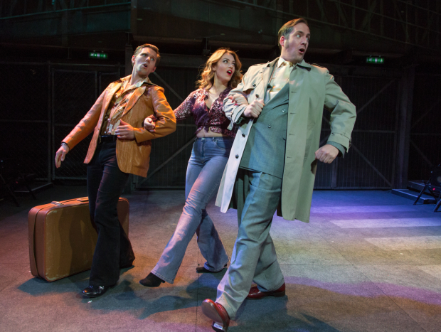 <p>John Addison (JoJo), Joanna Woodward (Mary) &amp&#x3B; Johnathan Tweedie (Theodore) in <em>The Life</em> </p><br />© Conrad Blakemore