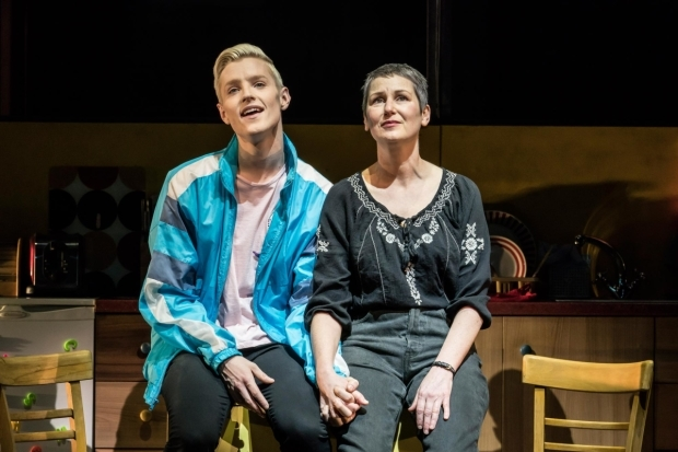 <p>John McCrea (Jamie New) and Josie Walker (Margaret New) in <em>Everybody&#39&#x3B;s Talking About Jamie</em></p><br />© Johan Persson