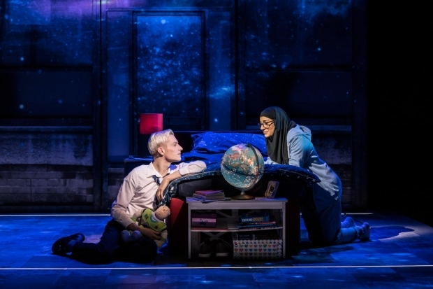 <p>John McCrea (Jamie New) and Lucie Shorthouse (Pritti Pasha) in <em>Everybody&#39&#x3B;s Talking About Jamie</em></p><br />© Johan Persson