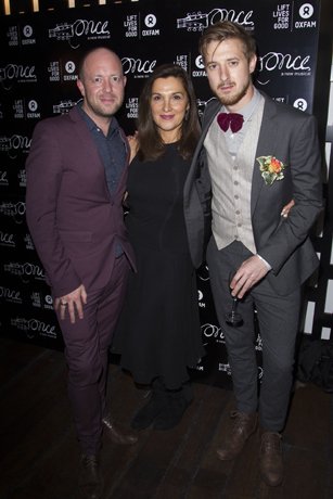 <p>John Tiffany, Barbara Broccoli and Arthur Darvill </p><br />© Dan Wooller for WhatsOnStage