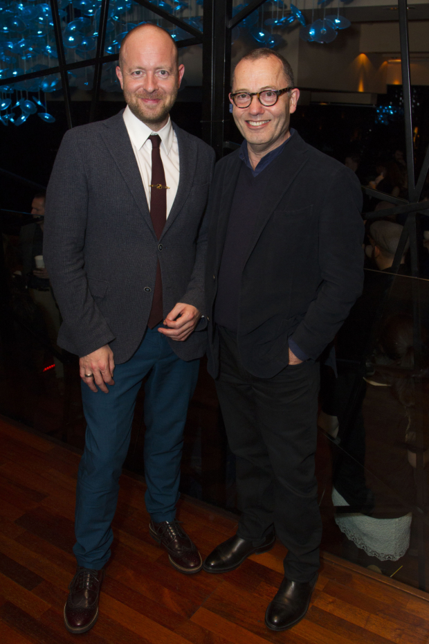 <p>John Tiffany (director) and Colin Callender (producer)</p><br />© Dan Wooller for WhatsOnStage