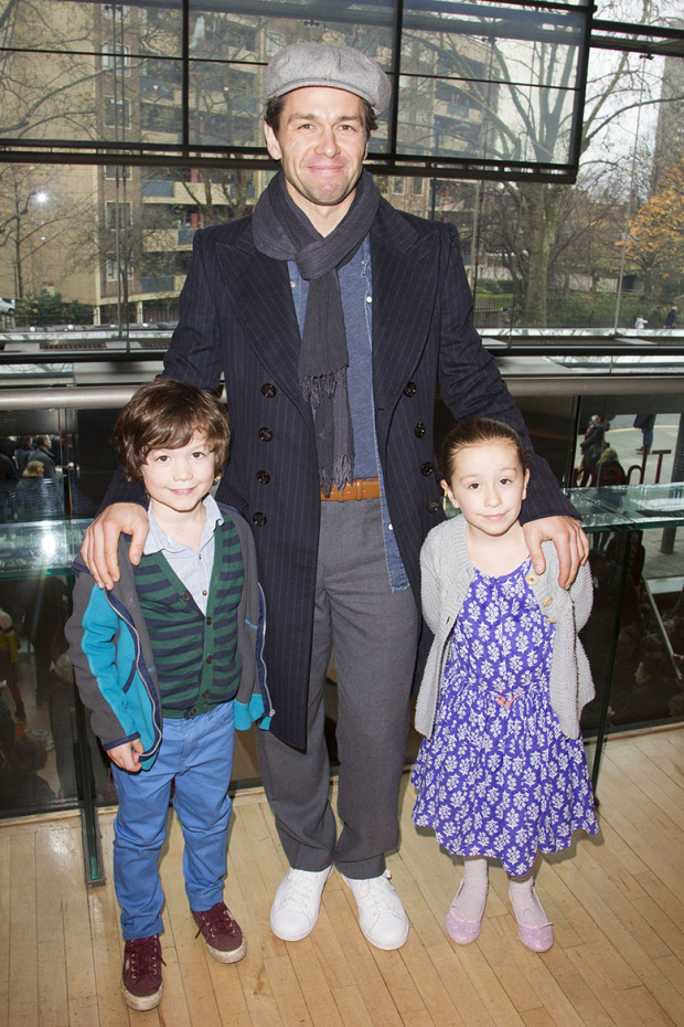 <p>Johnny Beau Ovenden, Julian Ovenden and Audrey Ovenden at the press night for <em>Sleeping Beauty</em> at Sadler&#39&#x3B;s Wells</p><br />© Dan Wooller for WhatsOnStage