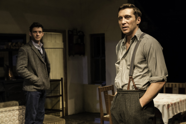 <p>Jonathan Bailey (John) and Ben Batt (George)</p><br />© Johan Persson