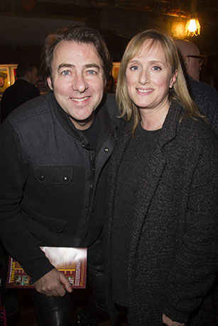 <p>Jonathan Ross and Jenna Russell</p><br />© Dan Wooller for WhatsOnStage