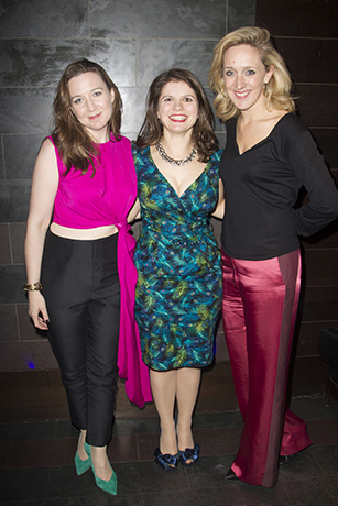 <p>Josie Rourke, Eleanor Lloyd and Kate Pakenham</p><br />Dan Wooller for WhatsOnStage