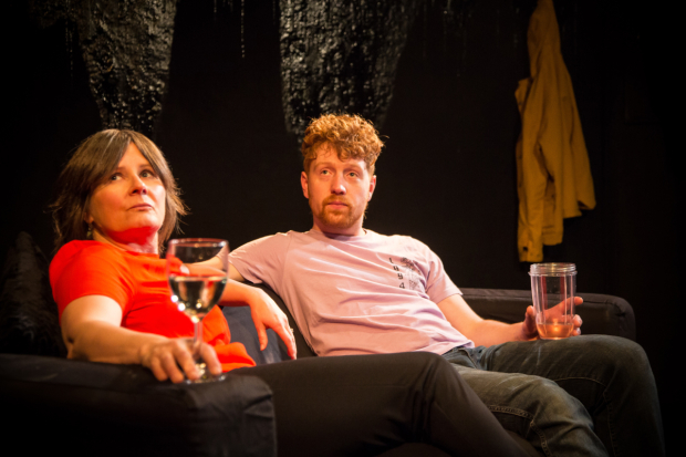 <p>Joyce Greenaway (Wendy) and Laurie Jamieson (Ryan) in <em>Dyl</em></p><br />© Jack Sain