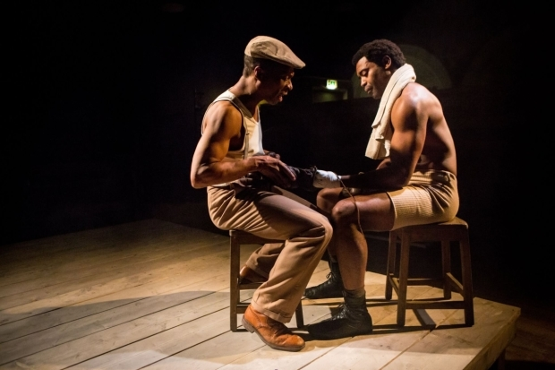 <p>Jude Akuwudike and Nicholas Pinnock</p><br />© Helen Murray
