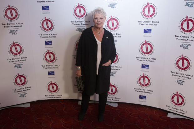 <p>Judi Dench won best Shakespearean performance for Paulina in <em>The Winter&#39&#x3B;s Tale</em></p>