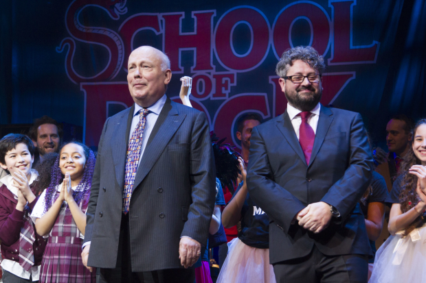 <p>Julian Fellowes (author) and Laurence Connor (director)</p><br />© Dan Wooller for WhatsOnStage