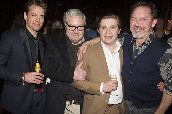 <p>Julian Ovenden, John Sessions, Jonathan Broadbent and David Bamber</p><br />Dan Wooller for WhatsOnStage