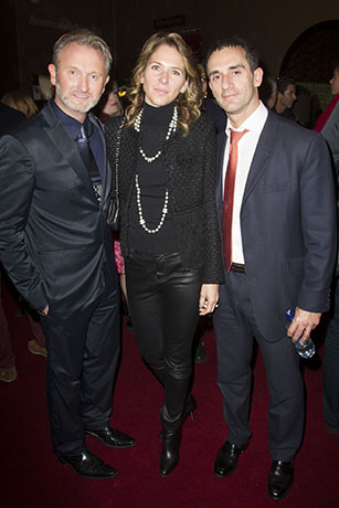 <p>Julian Stoneman (producer) Deborah Negri (producer) and Andre Negri</p><br />© Dan Wooller for WhatsOnStage