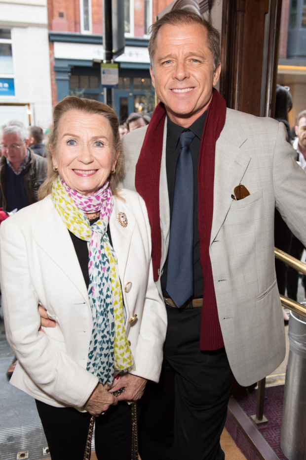 <p>Juliet Mills and Maxwell Caulfield</p><br />© Craig Sugden