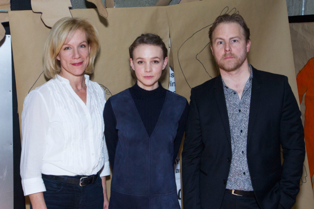 <p>Juliet Stevenson, Carey Mulligan and Samuel West</p><br />© Dan Wooller for WhatsOnStage