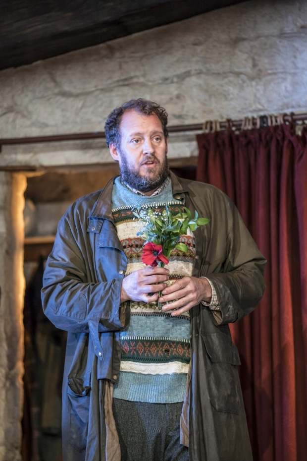 <p>Justin Edwards in <em>The Ferryman</em></p><br />© Johan Persson