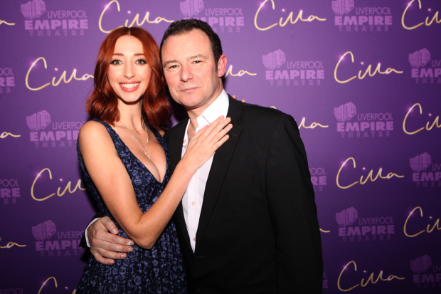 <p>Kara Lily Hayworth and Andrew Lancel (Brian Epstein)</p><br />© Matt Martin