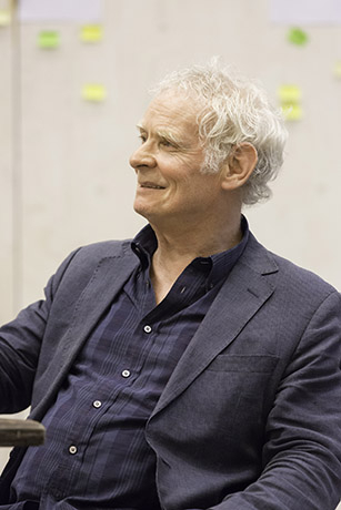 <p>Karl Johnson in rehearsal for <em>Fathers and Sons</em></p><br />© Johan Persson