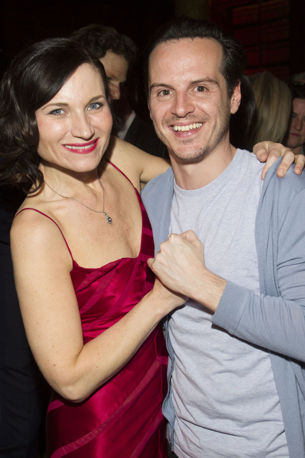 <p>Kate Fleetwood and Andrew Scott</p><br />© Dan Wooller for WhatsOnStage