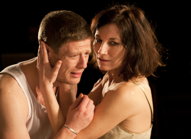 <p>Kate Fleetwood and James Norton  in <em>Bug</em></p><br />© Simon Annand