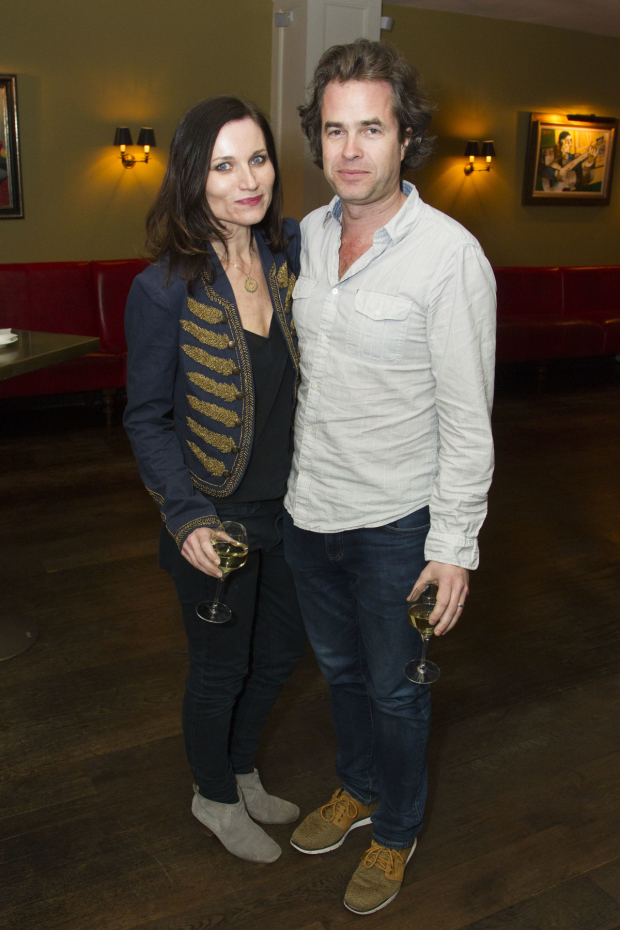 <p>Kate Fleetwood and Rupert Goold</p><br />© Dan Wooller for WhatsOnStage