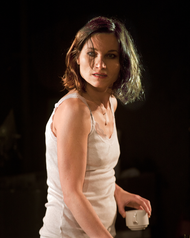<p>Kate Fleetwood  in <em>Bug</em></p><br />© Simon Annand