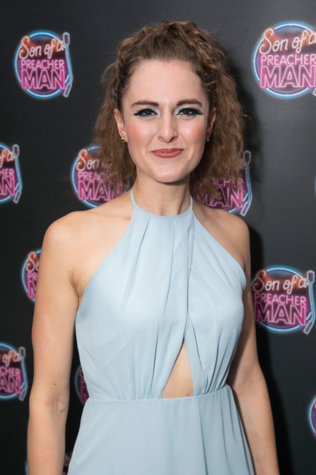<p>Kate Hardisty (Cappuccino Sister Two)</p><br />© Dan Wooller for WhatsOnStage