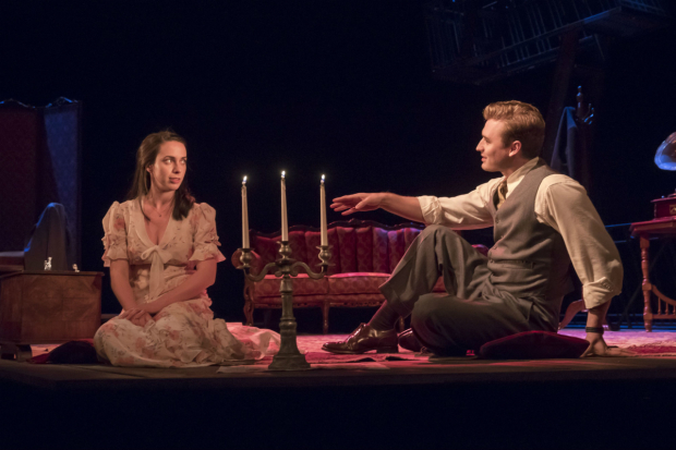<p>Kate O&#39&#x3B;Flynn and Seth Numrich  in <em>The Glass Menagerie</em></p><br />© Johan Persson