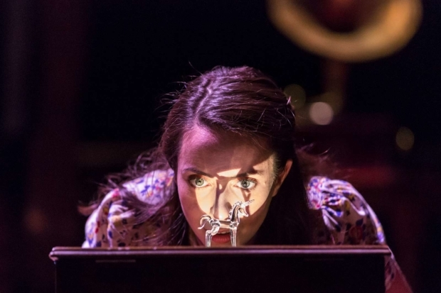 <p>Kate O&#39&#x3B;Flynn as Laurain <em>The Glass Menagerie</em>   </p><br />© Johan Persson