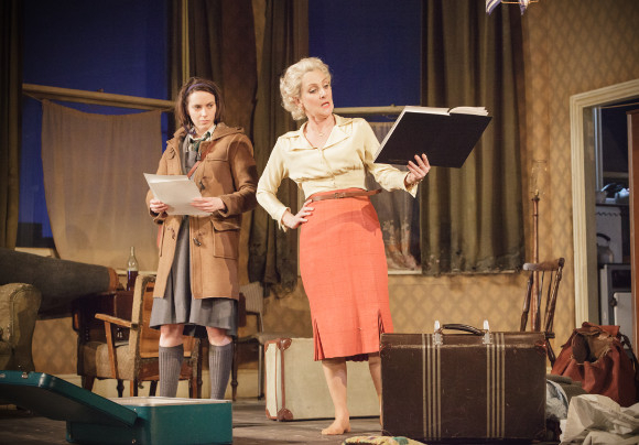 <p>Kate O'Flynn (Jo) and Lesley Sharp (Helen)</p><br />© Marc Brenner