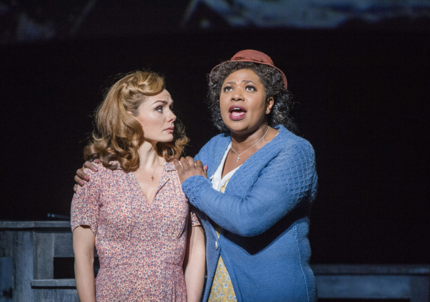 <p>Katherine Jenkins (Julie Jordan) and Brenda Edwards (Nettie Fowler) in <em>Carousel</em></p><br />©Tristram Kenton