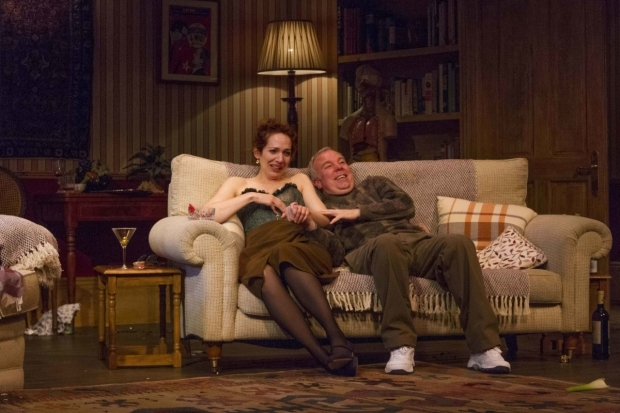 <p>Katherine Parkinson (Eleanor) and Steve Pemberton (Brian)</p>