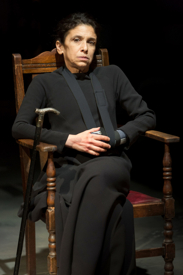 <p>Kathryn Hunter  in <em>The House of Bernarda Alba</em></p><br />©Jonathan Keenan