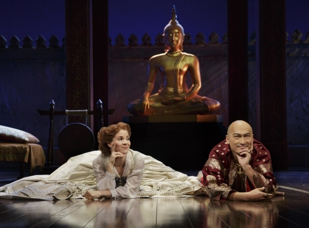 <p>Kelli O&#39&#x3B;Hara and Ken Watanabe  in the Broadway production of <em>The King and I</em></p><br />© Paul Kolnik 2015