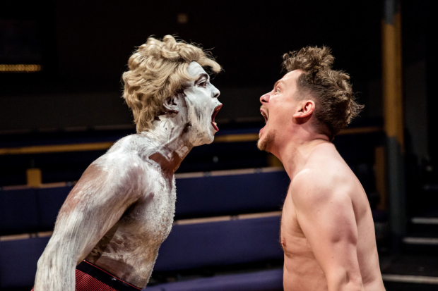 <p>Ken Nwosu and Kevin Trainor in <em>An Octoroon</em> </p><br />©The Other Richard