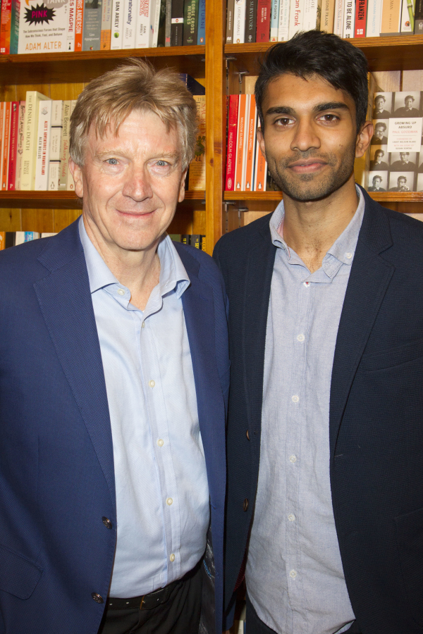 <p>Ken Rea and Nikesh Patel</p><br />© Dan Wooller for WhatsOnStage