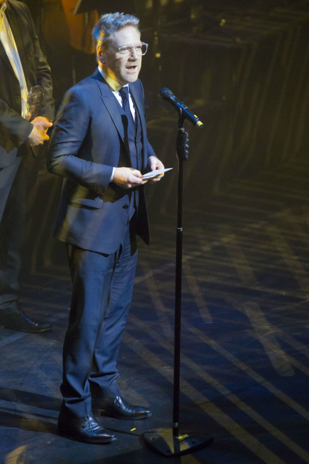 <p>Kenneth Branagh picking up the Equity Award for Services to Theatre at the WhatsOnStage Awards</p><br />© Peter Gibbons