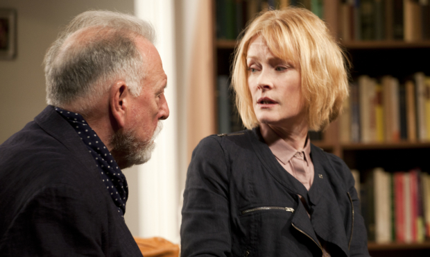 <p>Kenneth Cranham and Claire Skinner in <em>The Father</em></p><br />(c) Simon Annand