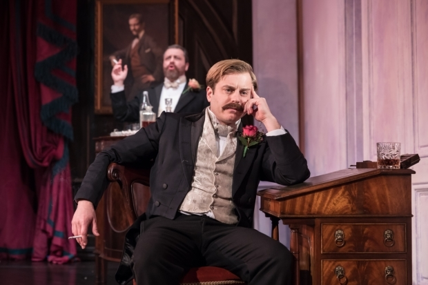 <p>Kevin Bishop in <em>Lady Windermere&#39&#x3B;s Fan</em> </p><br />© Marc Brenner