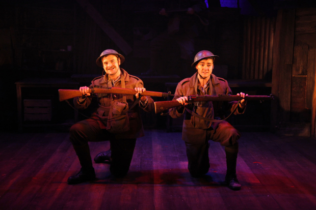 <p>Kevin Brewer and Jake-Morgan in <em>The Wipers Times</em></p><br />© Philip Tull