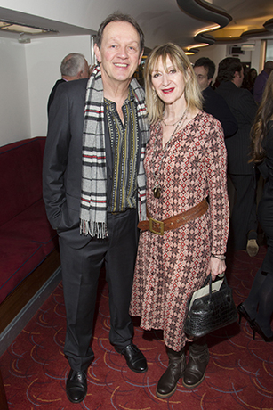 <p>Kevin Whately and Julie Legrand</p><br />Dan Wooller for WhatsOnStage