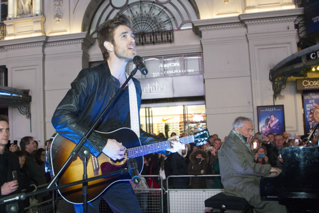 <p>Kyle Riabko</p><br />© Dan Wooller for WhatsOnStage