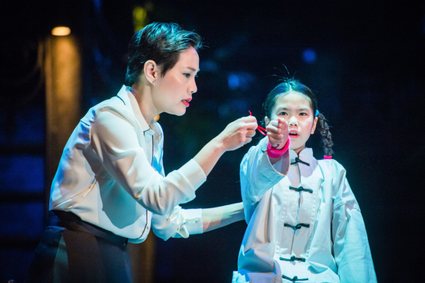 <p>l-r: Wendy Kweh (Tianyun) and Emily Dao (Fei-Fei) in <em>Snow in Midsummer</em></p><br />© Ikin Yum
