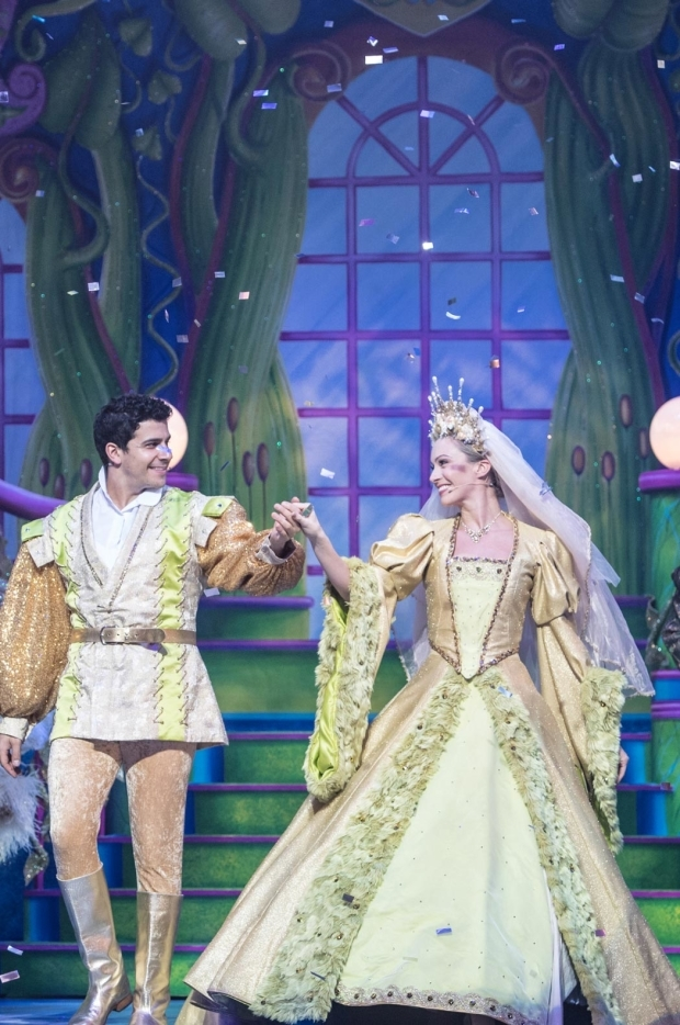 <p>Laim Tamne as Jack and Charlotte Gooch as Princess Apricot  in <em>Jack and the Beanstalk</em></p><br />© Craig Sugden