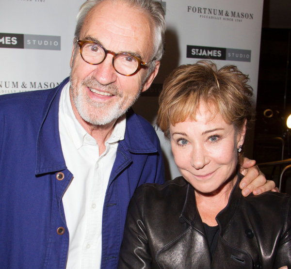 <p>Larry Lamb and Zoe Wanamaker</p><br />© Dan Wooller