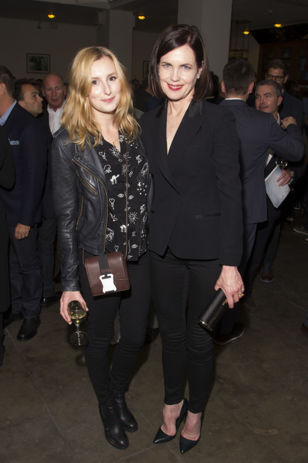 <p>Laura Carmichael and Elizabeth McGovern</p><br />© Dan Wooller for WhatsOnStage